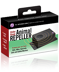 Under Hood Animal Repeller Keeps Critters Out Of Your